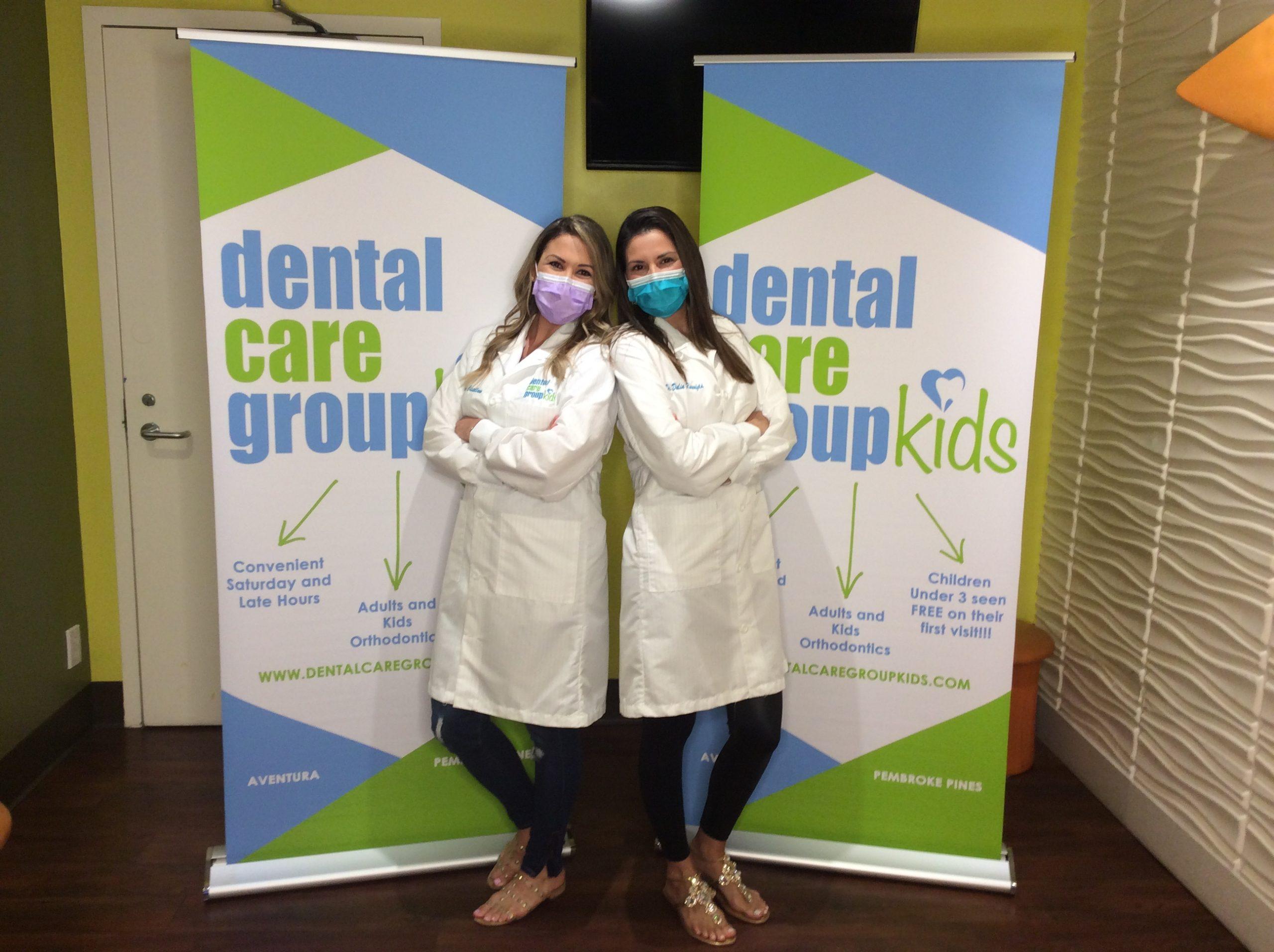 Dr Dalia Rosenfeld and Dr Alicia Castellano